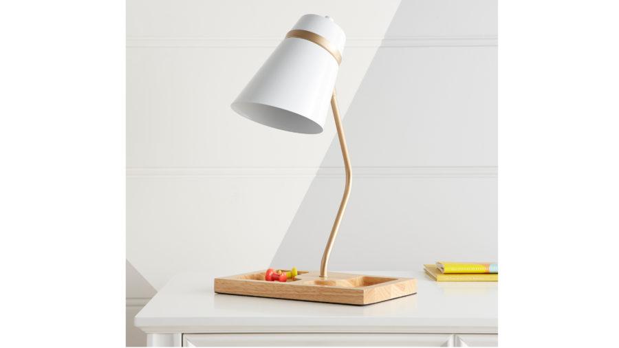 Table Lamp + Desk Organizer