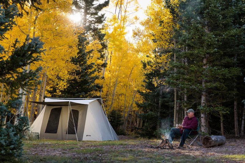 Kodiak Flex Bow 6-Person Deluxe Canvas Tent