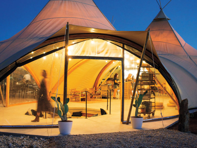 In-Tents Relaxation