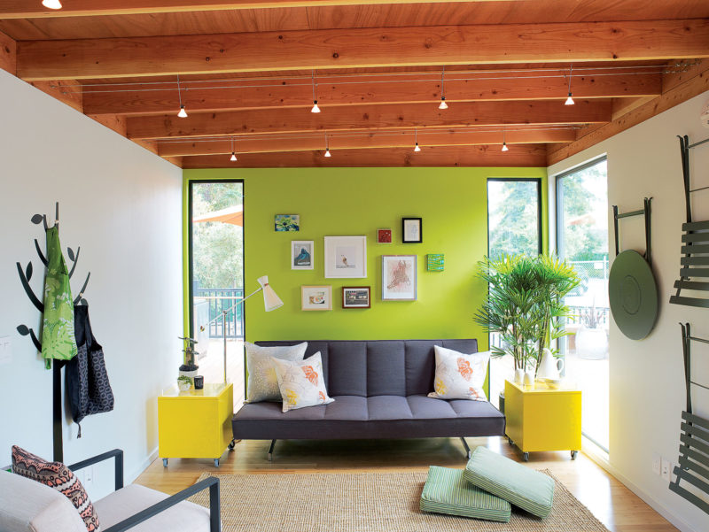 Artful Accent Wall
