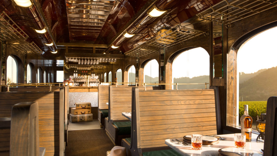 Napa Valley Wine Train's Famiglia Tour