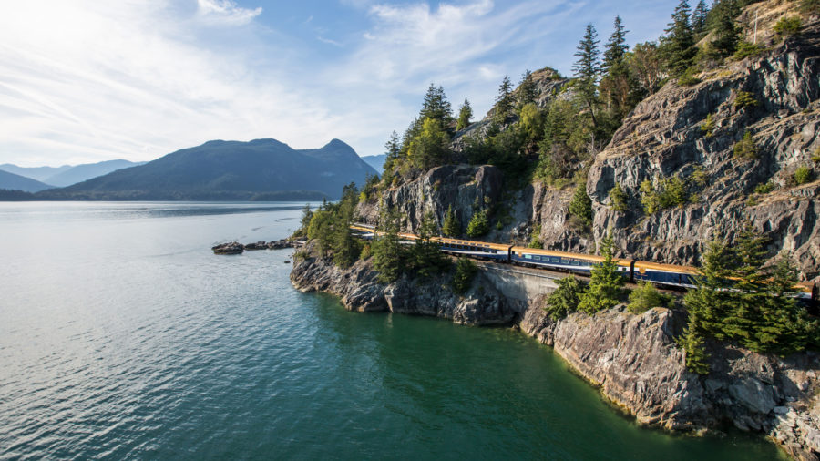 Rocky Mountaineer's Rainforest to Gold Rush Classic