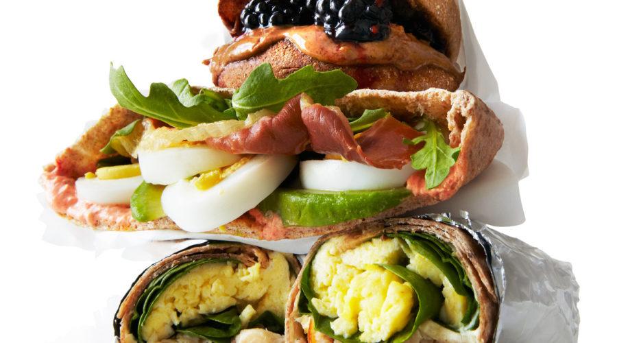Breakfast Sandwiches Three Ways