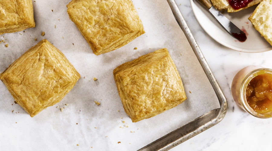 Manresa Bread's Buttery Biscuits