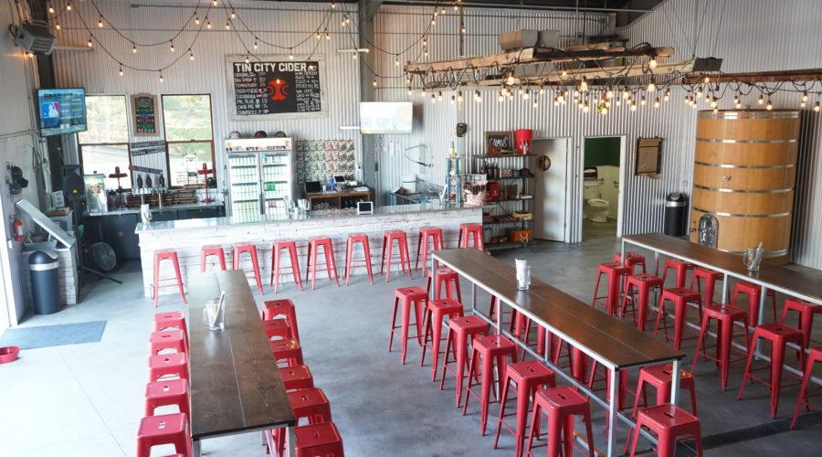 Tin City Cider, Paso Robles, CA