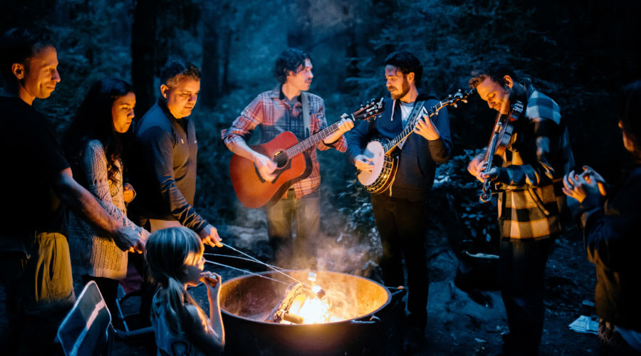 Host a Jam Session Al Fresco
