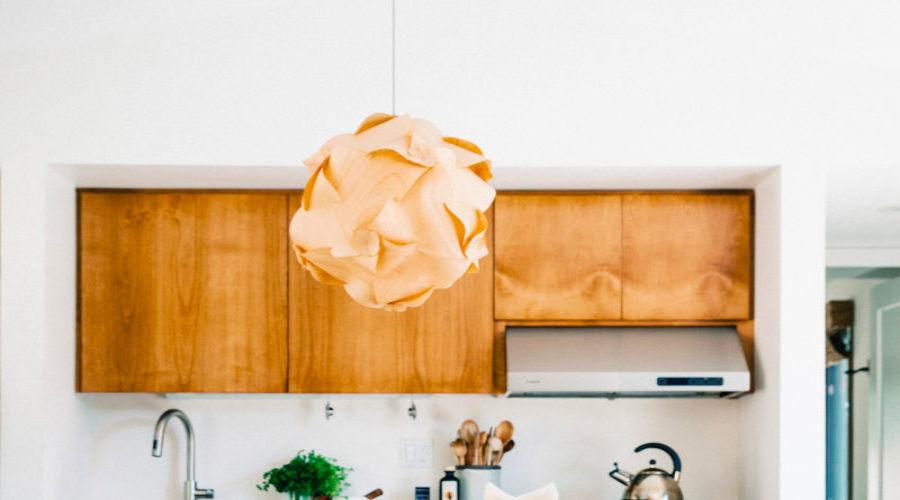 The Wood Veneer Light
