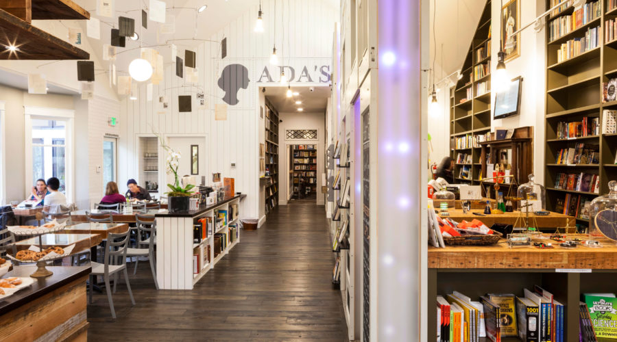 Ada's Technical Books and Café, Seattle, WA