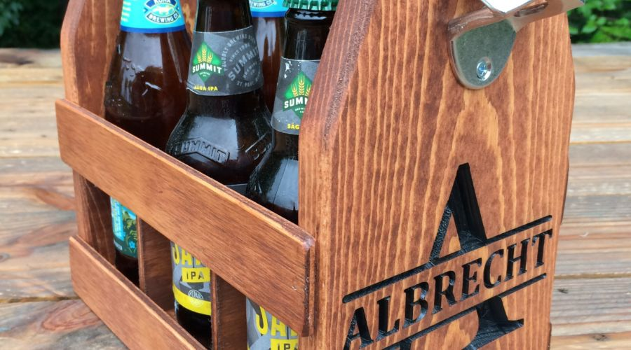Six-Pack Beer Caddy
