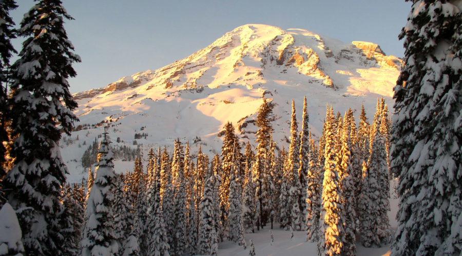 Magical Sledding in Mount Rainier