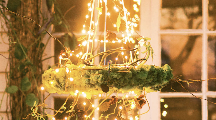 Glowing Garden Chandelier