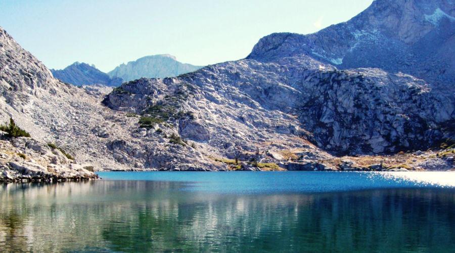 The lake at Ruby Valley, NV
