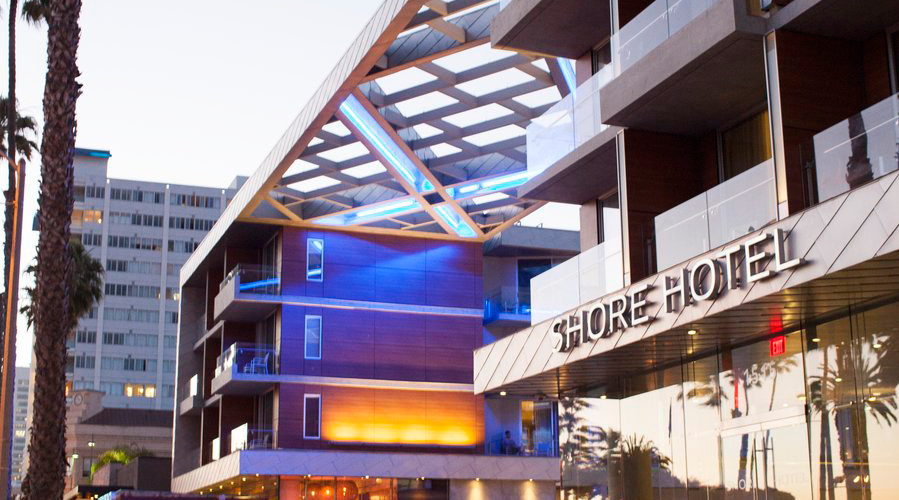A Stay at the Shore, Santa Monica