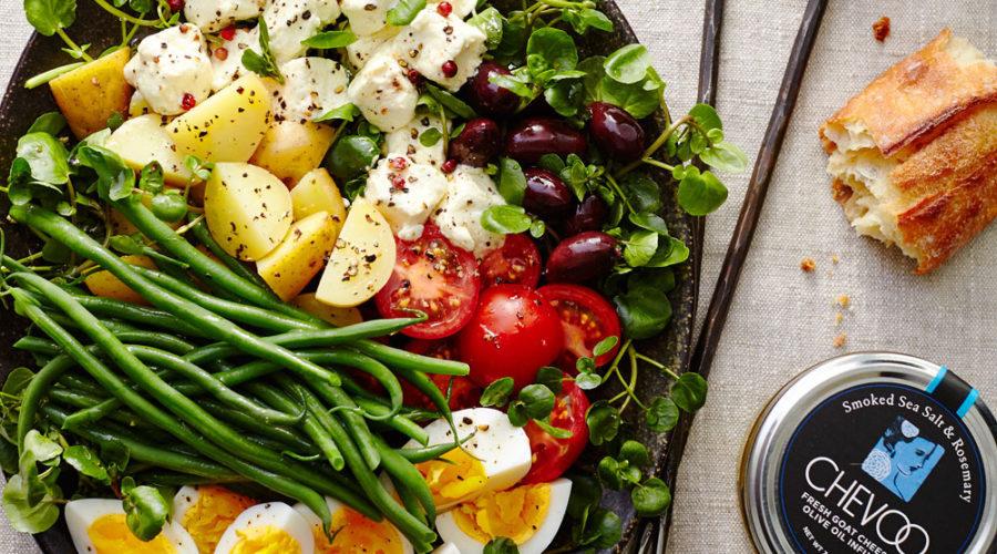 Goat Cheese Nicoise Salad