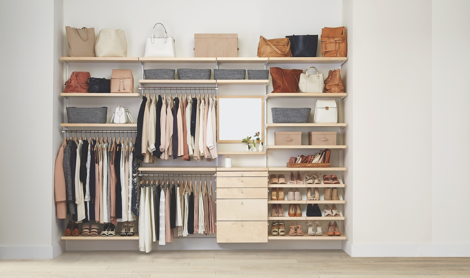 The Container Store Wants To Help You Organize Your Closet