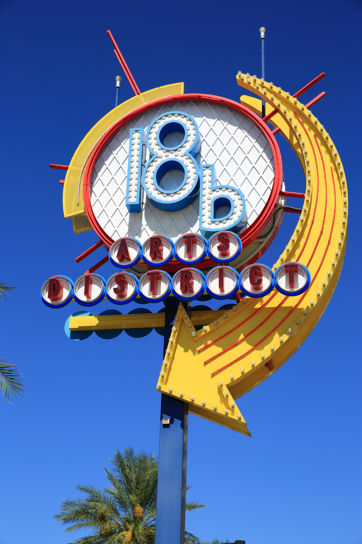 Las Vegas Arts District Sign