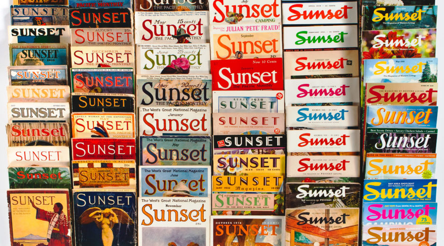 Vintage Issues of Sunset