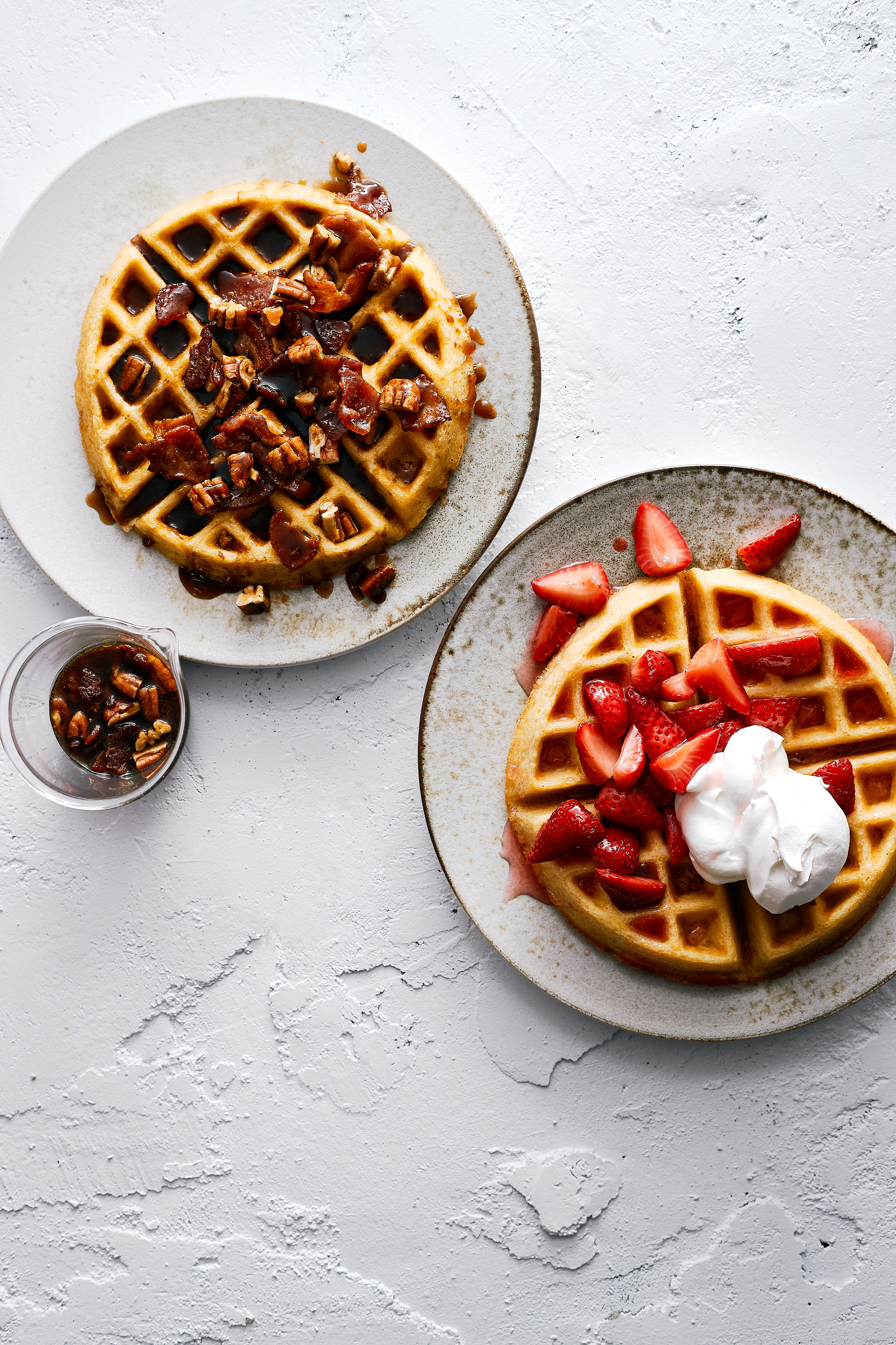 Brown Sugar Kitchen S Cornmeal Waffles With Three