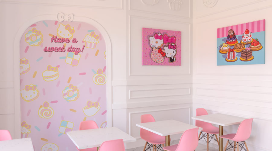 Hello Kitty Grand Cafe in SoCal
