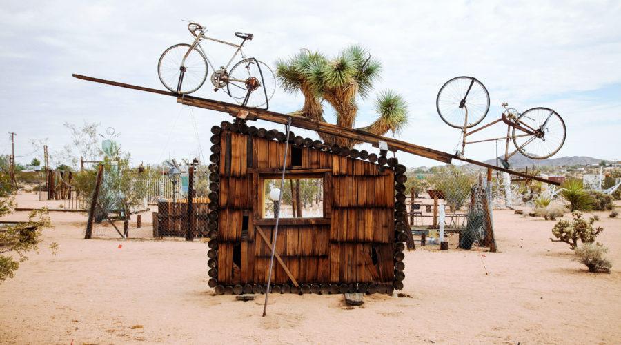 An Art Installation in Joshua Tree