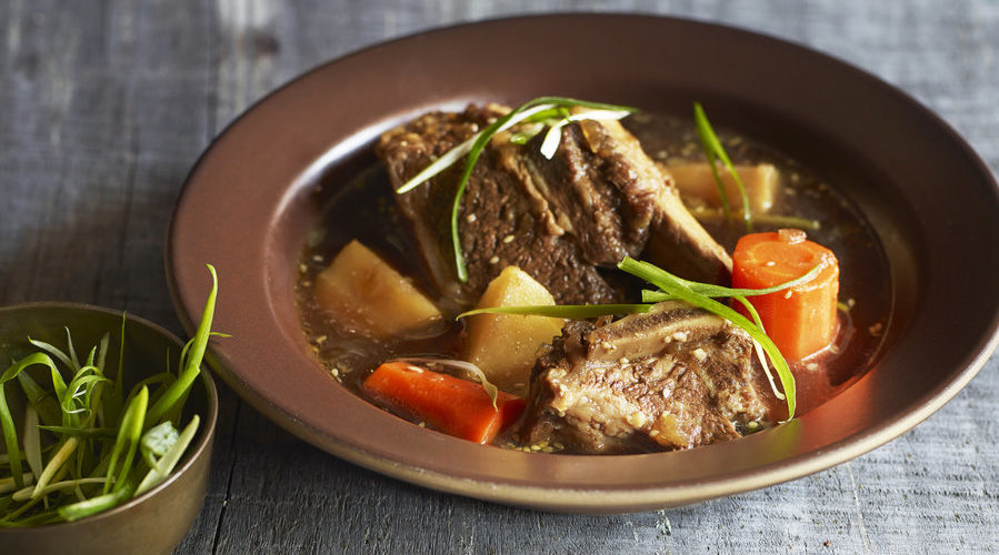 Korean-Style Braised Short Ribs