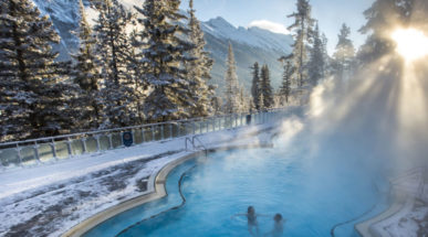Soothing Hot Springs in Banff