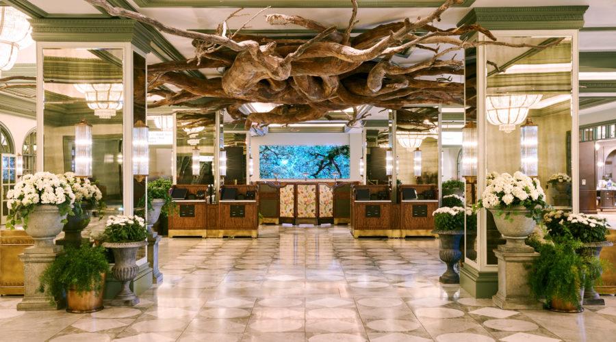 Park MGM Hotel Lobby, Las Vegas