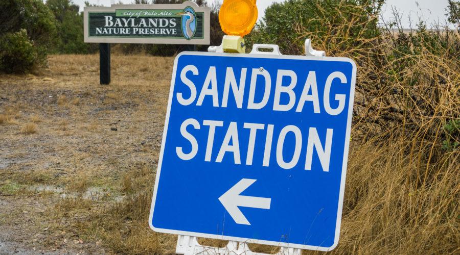Sandbag Station Sign